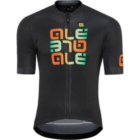 Alé Cycling Solid Mirror SS Jersey Herr black